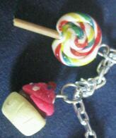 How to sculpt a clay food bracelet. Sweet Thing Charm Bracelet - Step 2