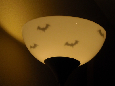 How to make a mobile. Indoor Decor: Bats. - Step 9