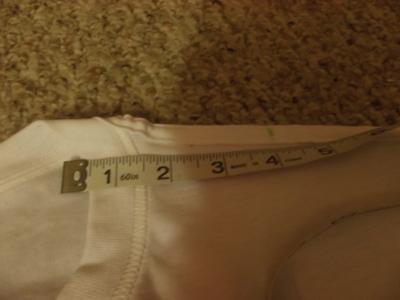 How to sew a t-shirt dress. Men's 3x L T Shirt Into A Cute Backless Dress - Step 10