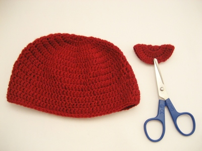 How to make a floral beanie. Double Crochet Beanie Tutorial For Beginners - Step 19