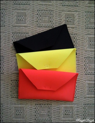 How to make an envelope clutch. Foam Clutch On The Cheap! - Step 1