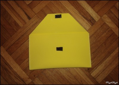 How to make an envelope clutch. Foam Clutch On The Cheap! - Step 2