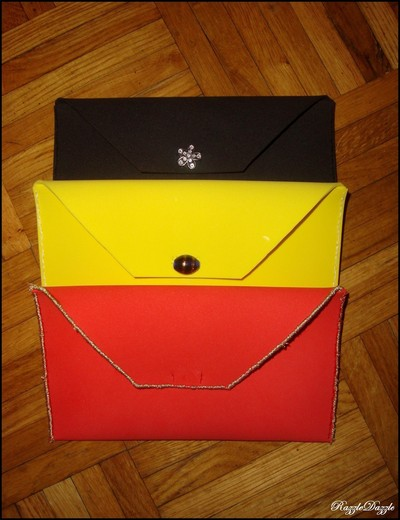How to make an envelope clutch. Foam Clutch On The Cheap! - Step 3