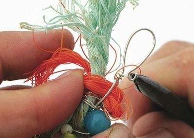 How to make a wire bracelet. Fishing Net Cuff - Step 12