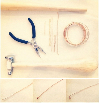 How to make a chain ring. Chain Linked Rings - Step 1