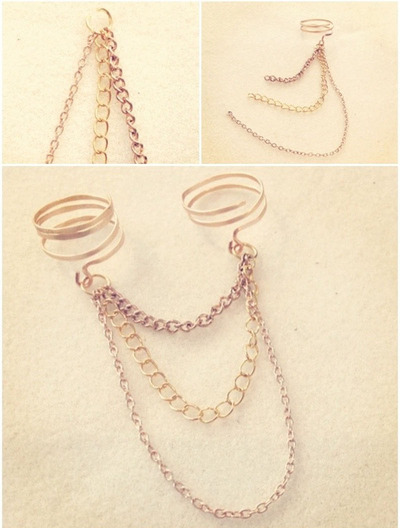 How to make a chain ring. Chain Linked Rings - Step 3