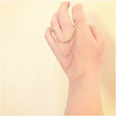 How to make a chain ring. Chain Linked Rings - Step 4
