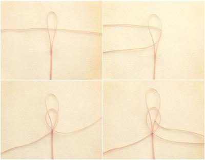 How to make a braided bead necklace. Macrame Bracelet - Step 2