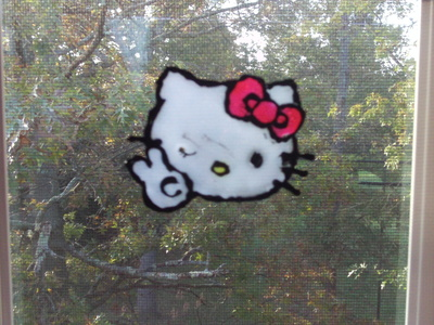 How to make a window cling. Totally Diy Window Clings - Step 7