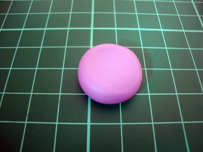 How to sculpt a clay macaron. Diy French Macaron Keyrings - Step 3