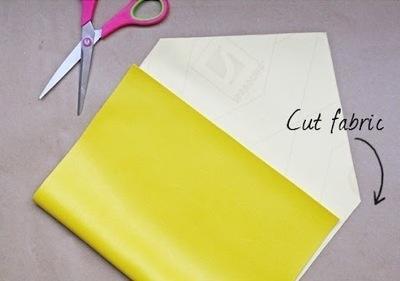 How to make a clutch. Diy Ipad Case Or Clutch - Step 1