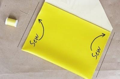 How to make a clutch. Diy Ipad Case Or Clutch - Step 2