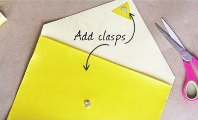 How to make a clutch. Diy Ipad Case Or Clutch - Step 3