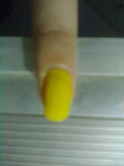 How to paint a food nail. Ice Cream Nail Art - Step 1