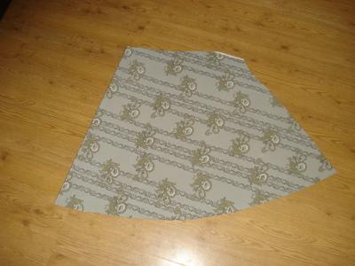 How to sew an asymmetrical skirt. A Pretty Asymmetrical Skirt - Step 3