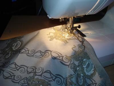 How to sew an asymmetrical skirt. A Pretty Asymmetrical Skirt - Step 5