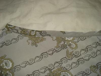 How to sew an asymmetrical skirt. A Pretty Asymmetrical Skirt - Step 6