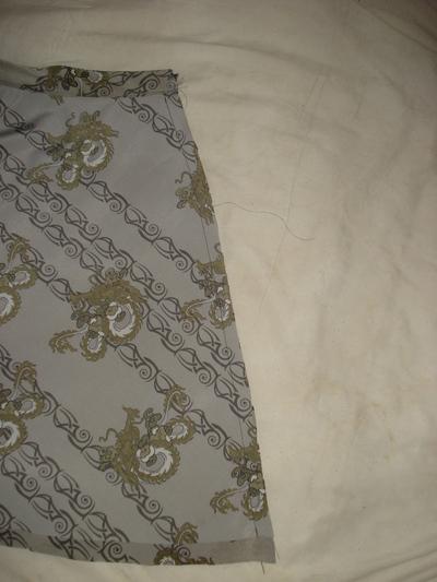 How to sew an asymmetrical skirt. A Pretty Asymmetrical Skirt - Step 7