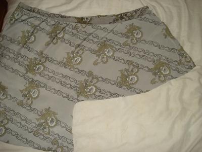 How to sew an asymmetrical skirt. A Pretty Asymmetrical Skirt - Step 8