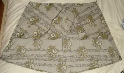 How to sew an asymmetrical skirt. A Pretty Asymmetrical Skirt - Step 9