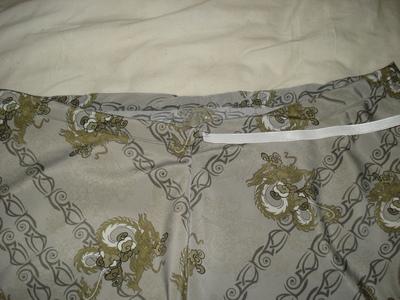 How to sew an asymmetrical skirt. A Pretty Asymmetrical Skirt - Step 10