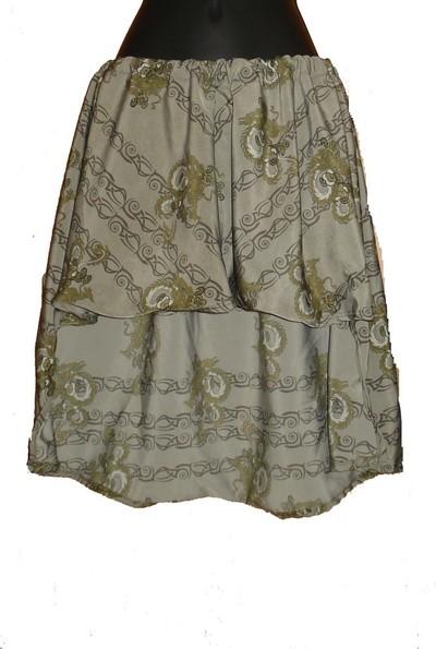 How to sew an asymmetrical skirt. A Pretty Asymmetrical Skirt - Step 11