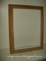 How to make a frame / photo holder. Vintage Sheet Music Wooden Frame - Step 1
