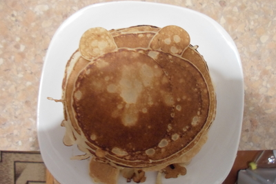 How to cook a pancake. American Pancakes From Russia:) - Step 4