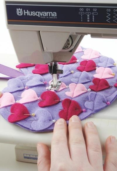 How to make a shape plushie. Heart Of Hearts - Step 3