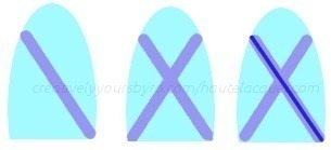 How to paint an x nail manicure. X Marks The Spot Nail Art And Tutorial! - Step 1