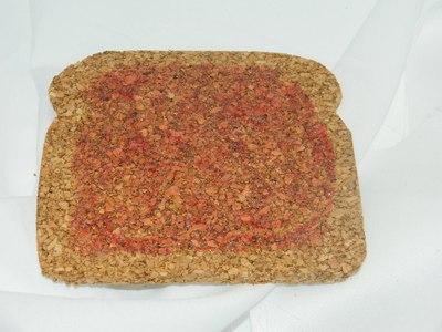 How to make a cork coaster. Jelly Toast Coasters - Step 3