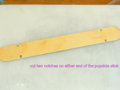 How to make a toy. Mini Bow And Arrow - Step 2