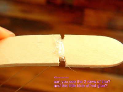 How to make a toy. Mini Bow And Arrow - Step 4