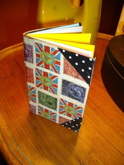 How to make a notebook journal. Stocking Filler: Easy Handmade Notebooks - Step 3