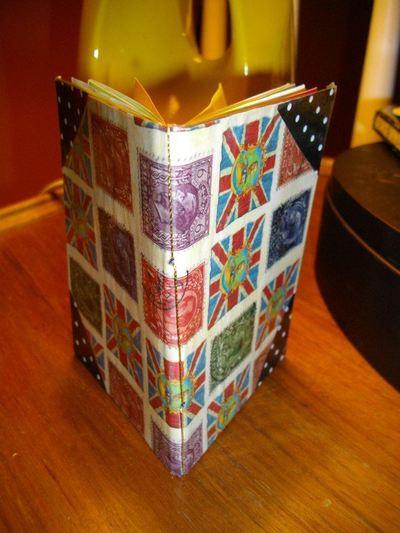 How to make a notebook journal. Stocking Filler: Easy Handmade Notebooks - Step 5