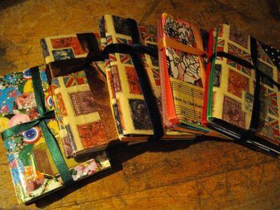 How to make a notebook journal. Stocking Filler: Easy Handmade Notebooks - Step 6