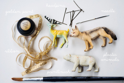 How to make a Christmas decoration. Diy Plastic Animal Decorations  - Step 1