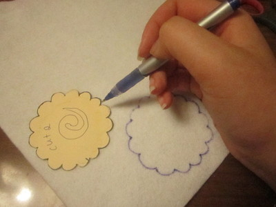 How to make a fabric ring. How To : Make A Narutomaki Ring  - Step 1