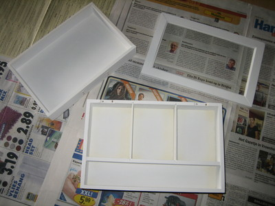 How to make a box. Gothic Jewelry Box - Step 2