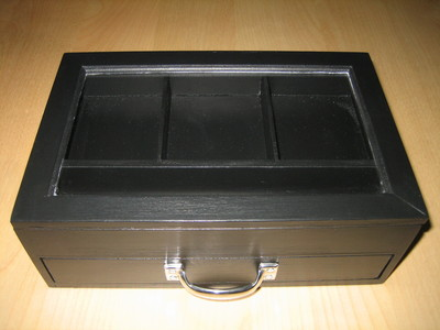 How to make a box. Gothic Jewelry Box - Step 4