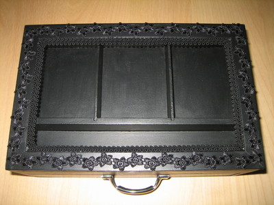 How to make a box. Gothic Jewelry Box - Step 5