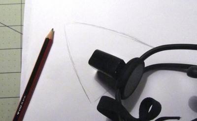 How to make an ear / horn. Necomimi Ears - Step 1