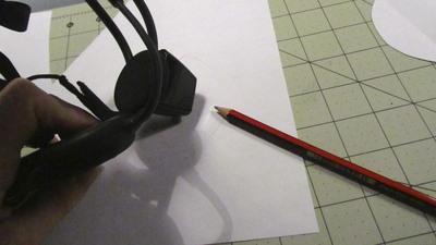 How to make an ear / horn. Necomimi Ears - Step 2