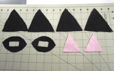 How to make an ear / horn. Necomimi Ears - Step 5