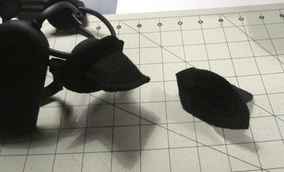 How to make an ear / horn. Necomimi Ears - Step 11