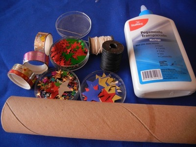How to make a Christmas decoration. Recicled Christmas Ornaments - Step 1