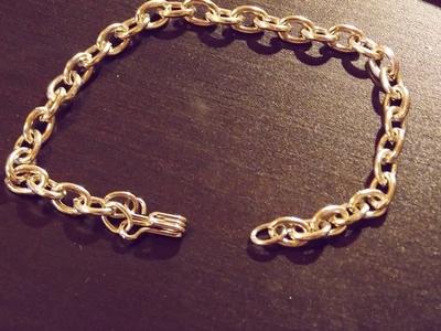 How to make a spike bracelet. Spike Bracelet - Step 2