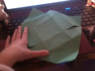 How to fold an origami box. Origami Boxes - Step 1