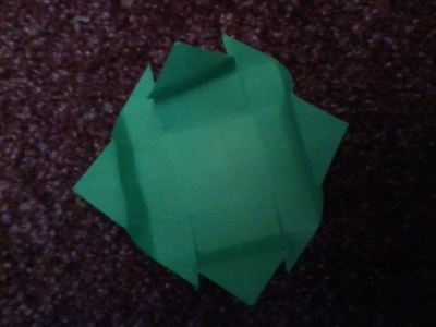 How to fold an origami box. Origami Boxes - Step 2