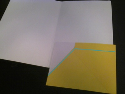 How to make a papercraft. Turn Spare Cards Into Pocket Organizers - Step 6
